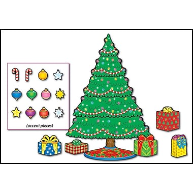 Carson-Dellosa Christmas Tree Bulletin Board Set
