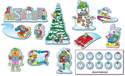 Carson-Dellosa Winter Bulletin Board Set 817375