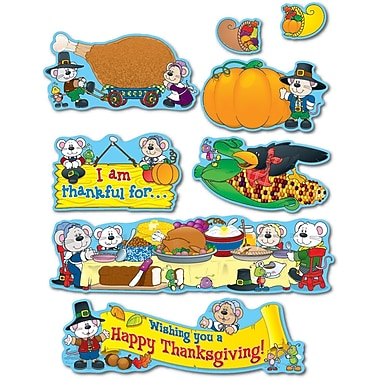 Carson-Dellosa Thanksgiving Bulletin Board Set