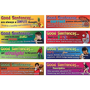 Mark Twain Good Sentences Bulletin Board Set