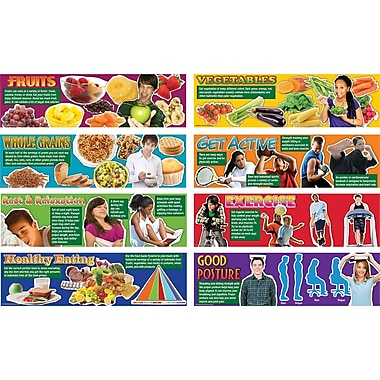 Mark Twain Healthy Lifestyles Bulletin Board Set