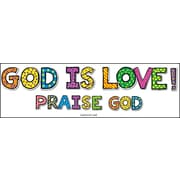 "Carson-Dellosa Publishing 210018 12.75"" x 12.5"" DieCut Bible God Is Love! Bulletin Board Set, Multicolor"