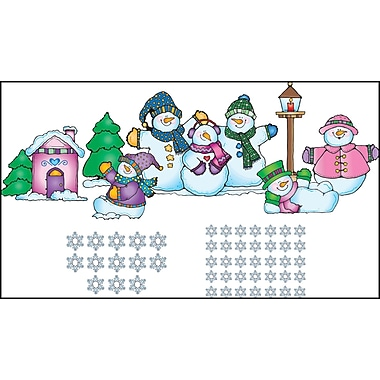 D.J. Inkers Snow Pals Bulletin Board Set