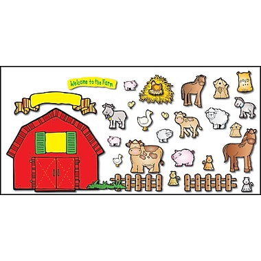 D.J. Inkers Farm Friends Bulletin Board Set