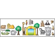 D.J. Inkers Zoo Friends Bulletin Board Set