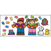 D.J. Inkers Apple Kids Welcome Bulletin Board Set