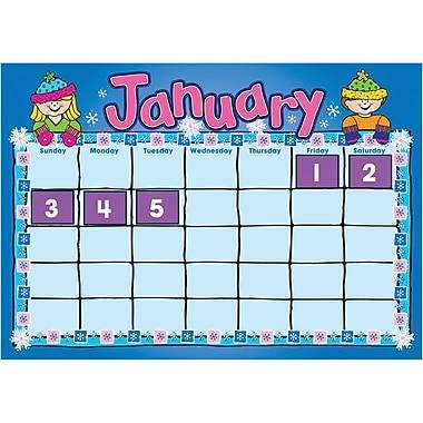 D.J. Inkers D.J. Kids Calendar Bulletin Board Set