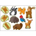 Carson-Dellosa Woodland Animal Talkers Bulletin Board Set