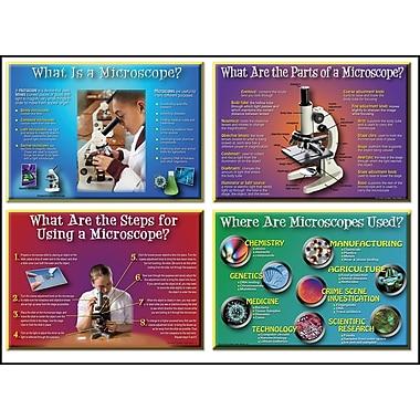 Mark Twain How to Use a Microscope Bulletin Board Set
