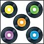 Carson-Dellosa Records Cut-Outs