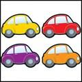 Carson-Dellosa Cars Cut-Outs
