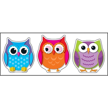 Carson-Dellosa Colorful Owls Cut-Outs