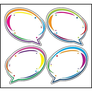 Carson-Dellosa Speech Bubbles Cut-Outs