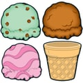 Carson-Dellosa Ice Cream & Cones Cut-Outs