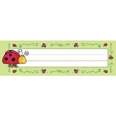 D.J. Inkers Ladybugs Nameplates