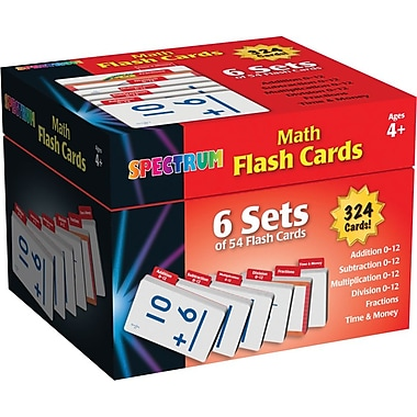 Spectrum Math Flash Cards