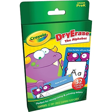 Crayola® The Alphabet Flash Cards