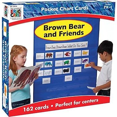 Carson-Dellosa Brown Bear and Friends Pocket Chart Accessory
