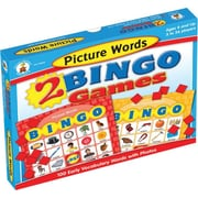 Carson-Dellosa Picture Words Bingo Board Game