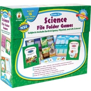 Carson-Dellosa Science File Folder Games, Grades K - 1