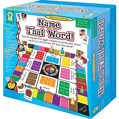 Key Education Name That Word Board Game