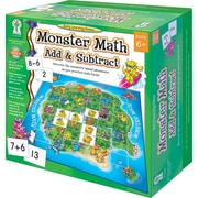 Key Education Monster Math Add and Subtract Board Game