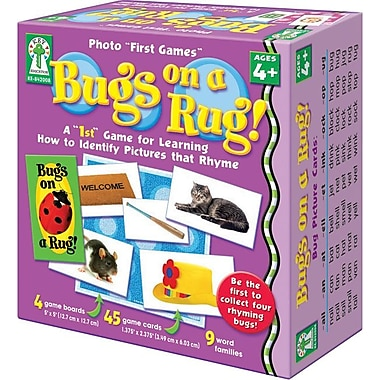 "Key Education Photo ""First Games"": Bug on a Rug Game"