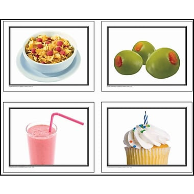 Key Education Nouns Learning Cards, Grades PK - 1, ELL, Special Education