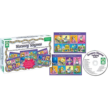 Key Education Listening Lotto: Nursery Rhymes Board Game