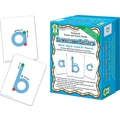 Key Education Textured Touch and Trace: Lowercase Manipulative
