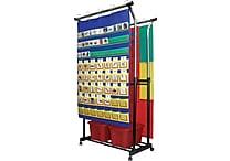 Carson-Dellosa Double Pocket Chart Stand Pocket Chart Accessory