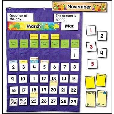 Carson-Dellosa Complete Calendar and Weather Pocket Chart