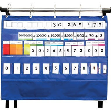 Carson-Dellosa Place Value Pocket Chart