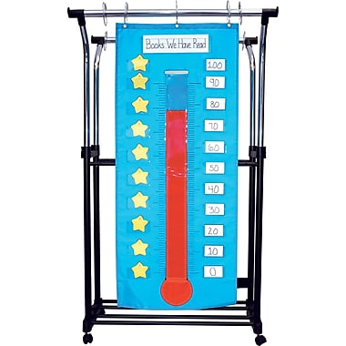 Carson-Dellosa Thermometer/Goal Gauge Pocket Chart