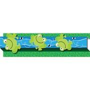 """Carson-Dellosa Publishing 108046 3' x 3"""" Straight Frogs & Bugs Borders, Multicolor"""