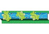 Carson-Dellosa Publishing 108046 3' x 3' Straight Frogs & Bugs Borders, Multicolor