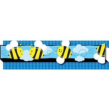 """Carson-Dellosa Bees Borders, (8) 3' x 3"""" Strips"""