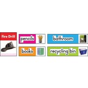 Carson-Dellosa Photographic Classroom Labels Bulletin Board Set