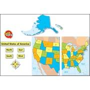 Carson-Dellosa United States Map Bulletin Board Set
