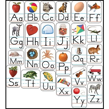 Carson-Dellosa Alphabet: Photographic Shape Stickers