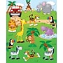 Carson-Dellosa Jungle Safari Shape Stickers