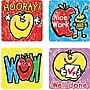Carson-Dellosa Apples: Kid-Drawn Motivational Stickers