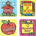 Carson-Dellosa School Days: Kid-Drawn Motivational Stickers