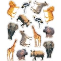 Carson-Dellosa Wild Animals of the Serengeti Shape Stickers