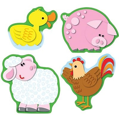 Carson-Dellosa Farm Shape Stickers