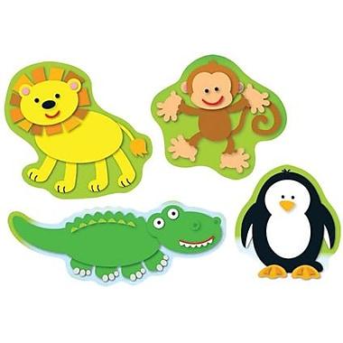Carson-Dellosa Zoo Shape Stickers