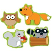 Carson-Dellosa Woodland Animals Shape Stickers