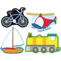 Carson-Dellosa Transportation Shape Stickers