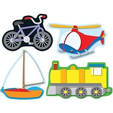 Carson-Dellosa Transportation Shape Stickers