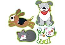 Carson-Dellosa Dogs & Cats Shape Stickers